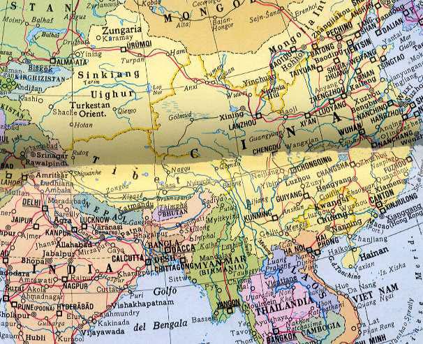 Cartina Climatica Cina.L Altopiano Del Tibet E I Cambiamenti Climatici Il Piu Devastante Disastro Annunciato