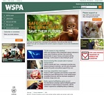 Difesa degli animali e loro diritti: WSPA -  World Society for the Protection of Animals