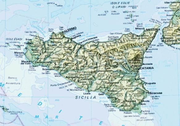 Cartina Fisica Sicilia Dettagliata.Energie Rinnovabili In Sicilia