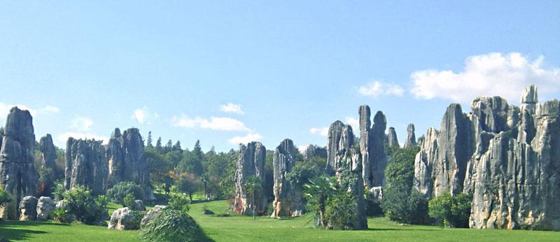 La foresta di pietra o Shilin
