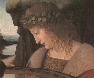 Narciso: Dipinto olio su tela di Giovanni Antonio Boltraffio