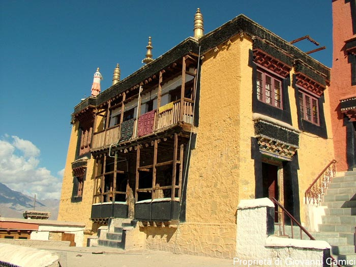 Gompa di Thiksey, distretto di Leh, regione di Ladakh in India