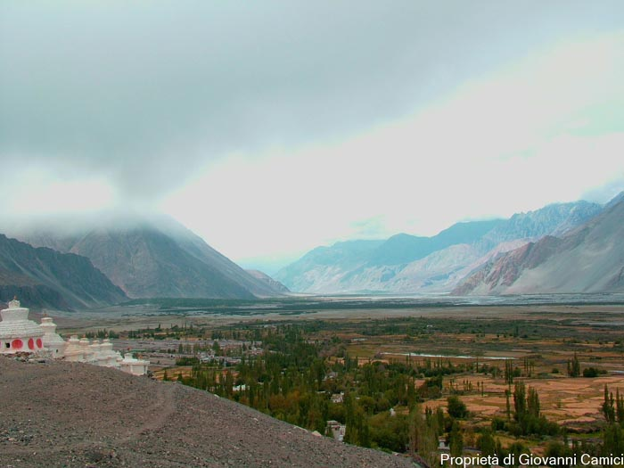 Nubra Valley , distretto di Leh, regione di Ladakh in India