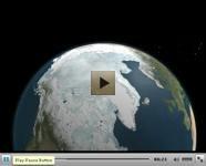 Video sullo sviluppo del ghiccio dell'artico