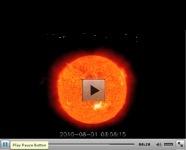 Video del sole